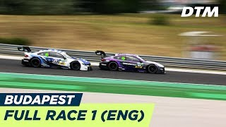 DTM Budapest 2018 - Race 1 (Multicam) - LIVE (English)