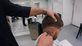 Техника мужской стрижки Fade (Фэйд) за 5 минут. Академия Barber Expert