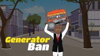 Generator ban - Rice importation (Takpo TV)