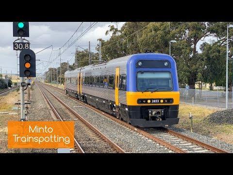 Sydney Trains Vlog 1638: Minto Trainspotting