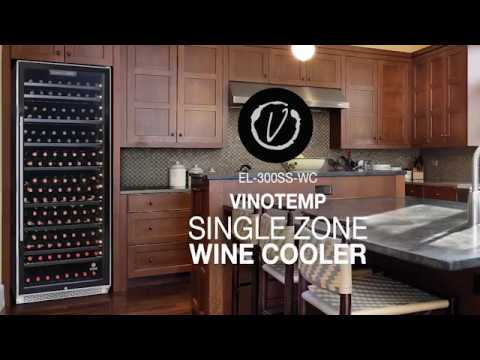 Vinotemp - Single Zone Wine Cooler