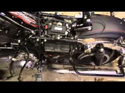 hqdefault amp install on a 2014 street glide youtube 2011 street glide fuse box location at mifinder.co