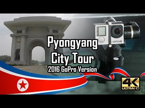 Pyongyang, North Korea - City Tour 2016 July - GoPro 4K version