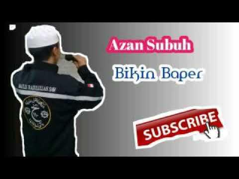 Suara Azan Subuh merdu yang bikin Merinding  #Versi Adzan Makkah