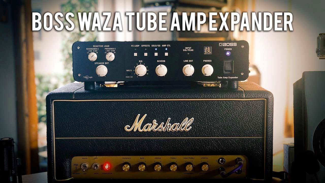 boss waza tube amp expander youtube. Black Bedroom Furniture Sets. Home Design Ideas