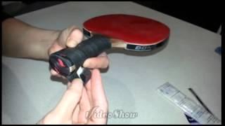 soft grip tape on TT racquet