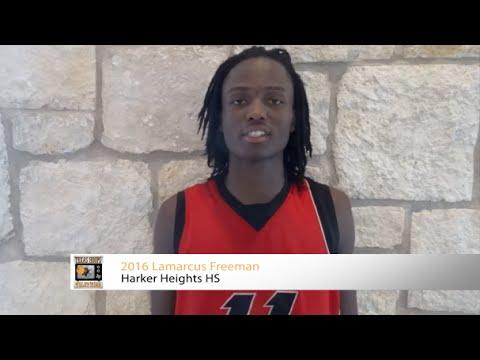 2016 Lamarcus Freeman - Harker Heights