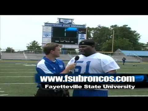 FSU Football Interview with Larry McDonald