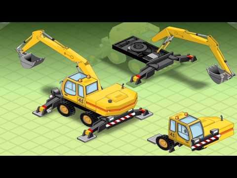 เกมส์ ประกอบรถแม็คโคร รถดับเพลิง รถขยะ-Build a Vehicle Activity Book
