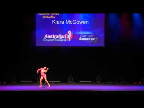 Kiara McGowen  - ADF Solo  - Dance Around the World