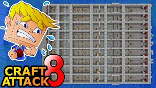 Erstes Craft Attack EVENT! Chatwars! - Minecraft Craft Attack 8 #42