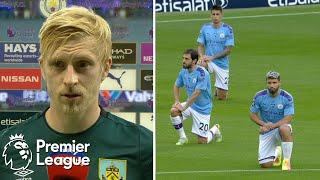 Burnley, Manchester City Condemn 'white Lives Matter' Banner | Premier League | Nbc Sports
