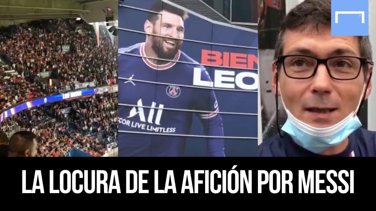 El debut de Messi en el Parque de los Príncipes - ¿Qué opina la afición?