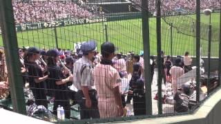 2012 甲子園 ブラバン 吹奏楽 応援 高音質 遊学館 ライディーン 王子製紙.