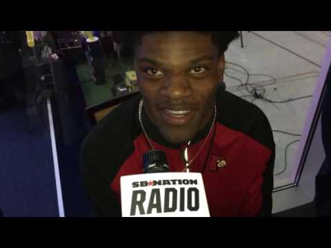 Lamar Jackson Louisville quarterback on how he