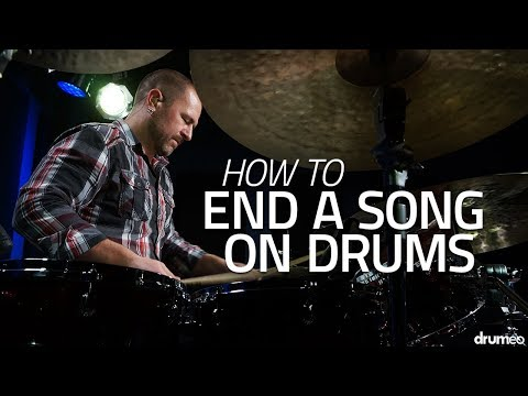 How To End A Song On Drums - Drum Lesson (Drumeo)