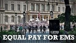 Equal Pay for EMS | City Hall, Manhattan
