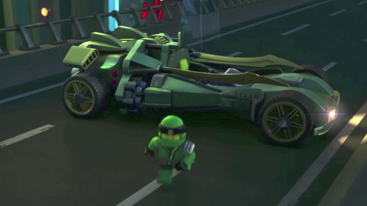 Ninjago lloyd 39 s new vehicle in season 8 youtube - Lego ninjago voiture ...