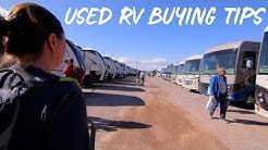 Buying a Used RV Tips!