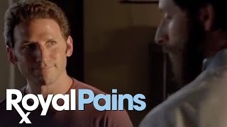 "Royal Pains - Season 5, Eps 2 - ""Blythe Spirits,"" Hank's Exam"