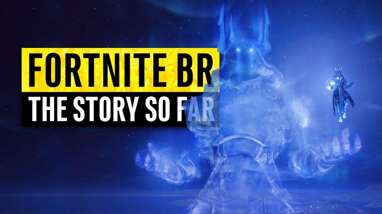 Fortnite | Die Geschichte bisher ... Alle Live-Events und Kinematiken (Staffel 3 - Staffel 7) + video
