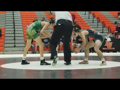 Mike Dalton- West Forsyth vs Cody- Davie County HS (Wrestling) 106lbs. 2017-18
