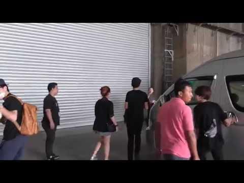 บี้+อ้น+ซีดี+ตั้ม+ริท ขาเข้ามาซ้อมคอนเสิร์ต@ IMPACT Arena-25/6/57