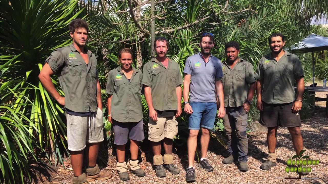 Designer Garden Company in Cairns Meet The Team YouTube