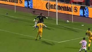 Хорватия- Украина 2:2. Отбор к ЧМ-2010 (обзор матча).(06.06.09. Загреб. Стадион