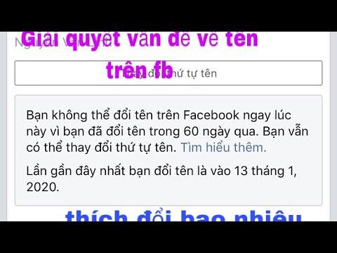 hack doi ten facebook khong can doi 60 ngay - Hướng Dẫn Đổi Tên Facebook Đã Quá Số Lần Quy Định Hoặc Chưa Đủ 60 Ngày Đơn Giản Nhất