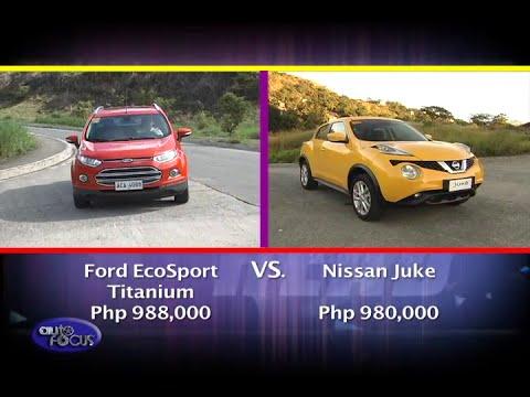 Nissan Juke vs Ford Eco Sport Head 2 Head