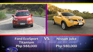 Nissan Juke vs Ford Eco Sport -  Head 2 Head