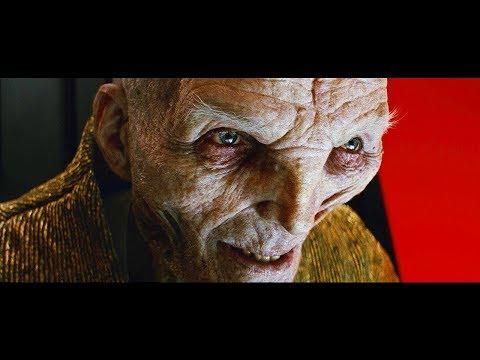 Star Wars LAST JEDI - Kylo Snoke Scene Explained