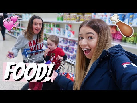 COME SHOPPING WITH US! THE DREADED CHRISTMAS FOOD SHOP!!