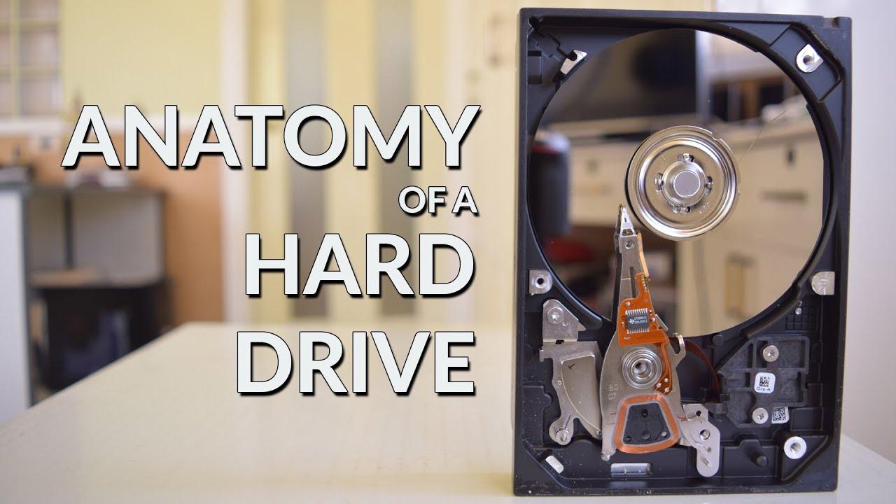 Anatomy of a Hard Drive - YouTube
