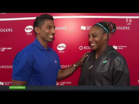 Tennis Channel Live: Serena Williams & Naomi Osaka Set Rogers Cup Quarterfinal, 2018 US Open Rematch