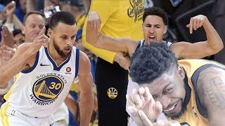 WE ALMOST SENT THEM HOME!! WARRIORS vs ROCKETS GAME 6 HIGHLIGHTS REACTION