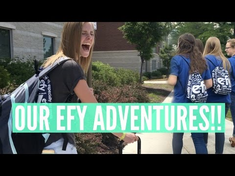 ARRIVING TO PROVO!! + OUR EFY ADVENTURES! (MONDAY-WEDNESDAY)