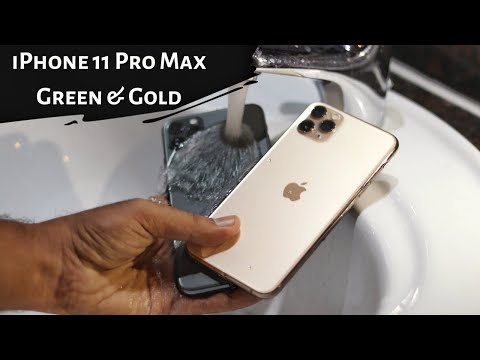 iPhone 11 Pro Max unboxing & water test
