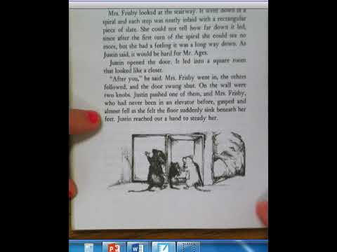Mrs. Frisby And The Rats Of NIMH- In The Library Ch 11