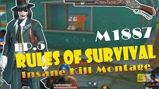 Insane Kill Montage / Rules of Survival / Ep 5