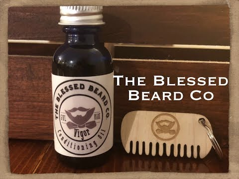 The Blessed Beard Co Beard Product Review!!! | Beard Oil Review