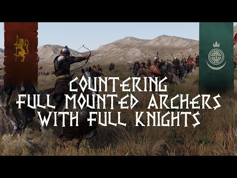 FULL Vlandian Knights Vs FULL Khuzait Horse Archers | Mount & Blade II Bannerlord - Beta FULL Team