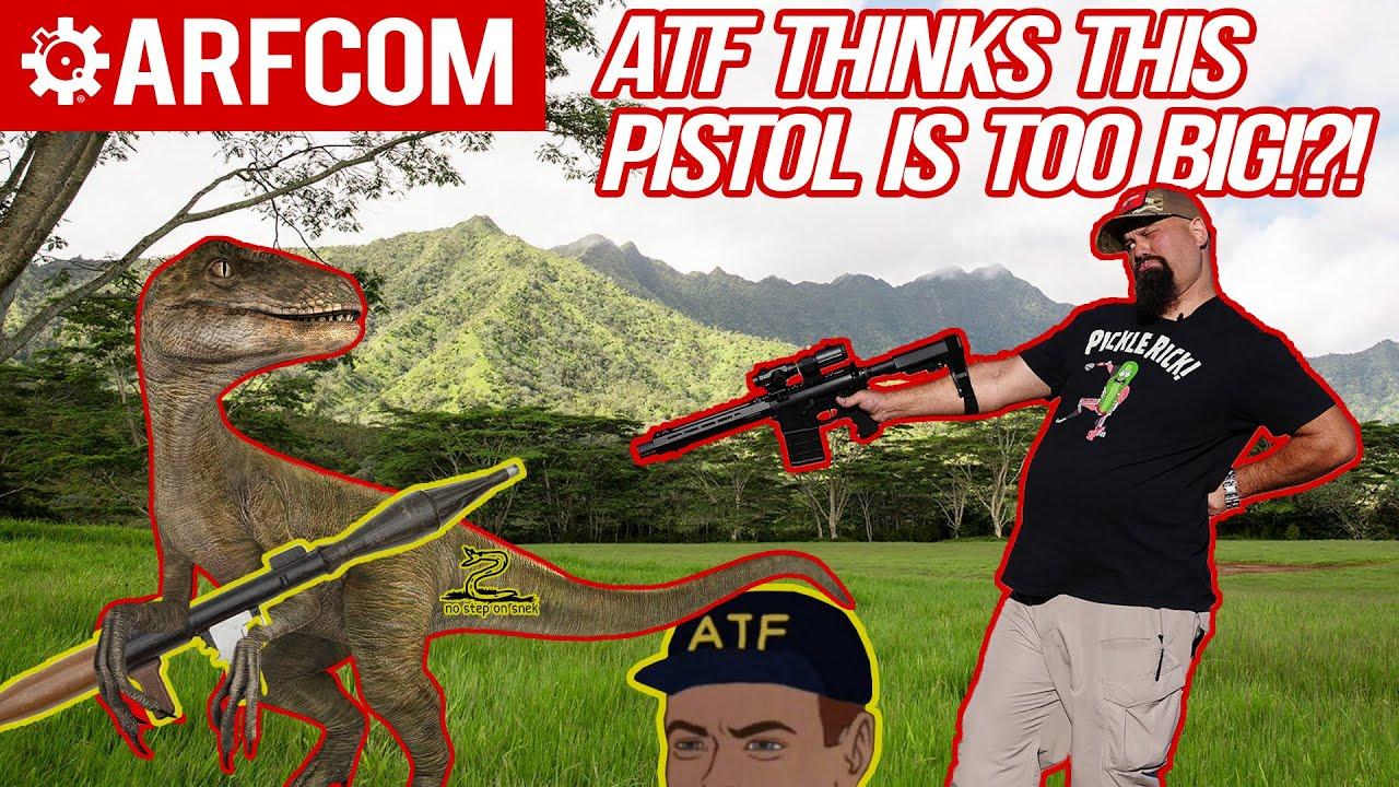 The ATF Thinks This Pistol Is Too Big | Springfield Saint .308 Pistol