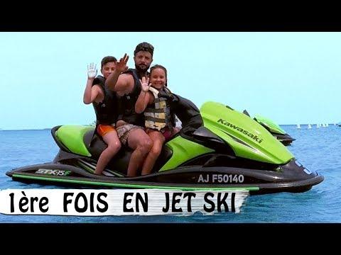 PREMIÈRE FOIS EN JET SKI / Family Vlog en Corse