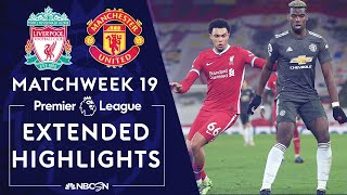 Liverpool v. Manchester United | PREMIER LEAGUE HIGHLIGHTS | 1/17/2021 | NBC Sports
