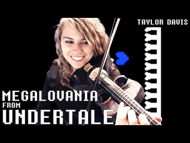 Undertale: Megalovania (Violin Cover) Taylor Davis