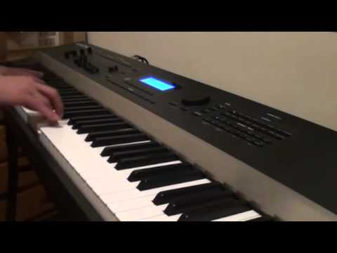 Miley Cyrus - Adore You - Piano Cover Version - Played on a Kurzweil Artis