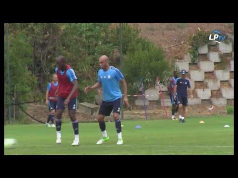 A l'entraînement avec... Aymen Abdennour