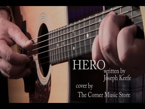 Hero by  Family Of The Year (cover) by The Corner Music Store
